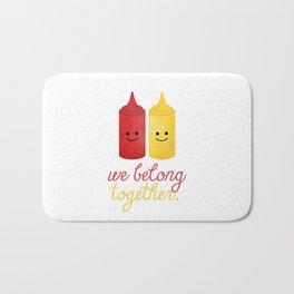 We Belong Together Bath Mat