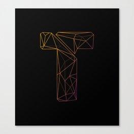 Telescopic Geometry Canvas Print
