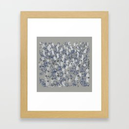 Too Too Many Framed Art Print