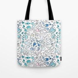 Colorful Sealife Tote Bag