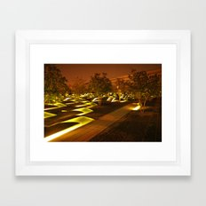 Where Light Has Gone to Rest Framed Art Print