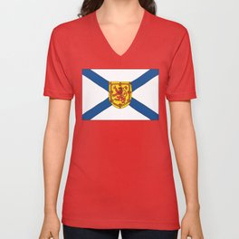 The Flag of Nova Scotia  Unisex V-Neck