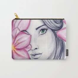 into flowers Carry-All Pouch