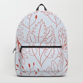 Plant leaf pattern Backpack