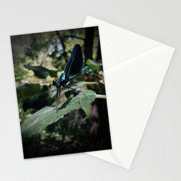 Ebony Jewelwing Stationery Cards