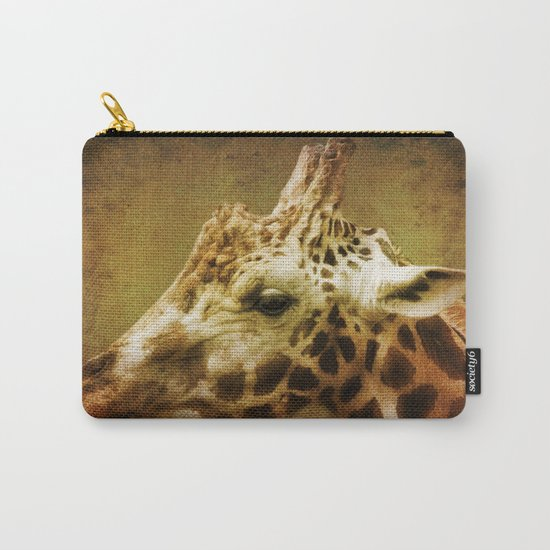 Giraffe wild Animal Africa Carry-All Pouch
