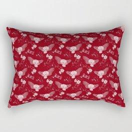 Rock 'n' Roll RED Rectangular Pillow