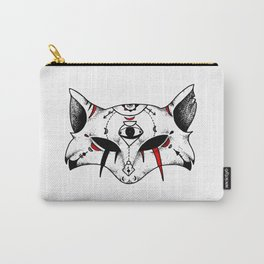 Kitsune Mask Carry-All Pouch
