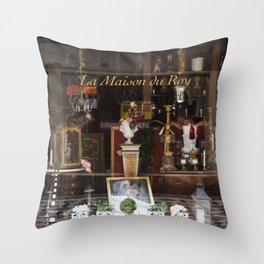 La Maison du Roy  //  France Throw Pillow