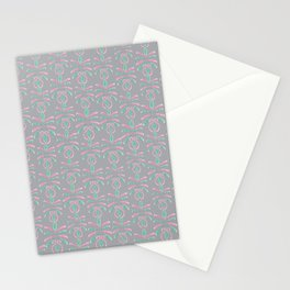 Cereal for Dinner - Geometric Stationery Cards