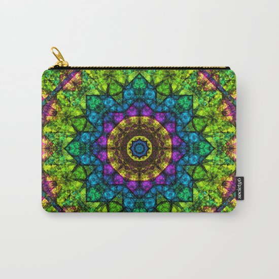kaleidoscope Crystal Abstract G50 Carry-All Pouch