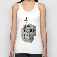 flight Tank Tops featuring FLIGHT by NOA ALON ART