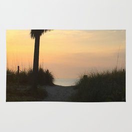 Morning Path to the Ocean Rug