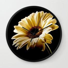 Floral Highlights Wall Clock