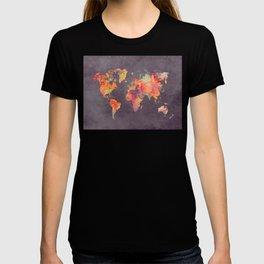 world map 67 T-shirt
