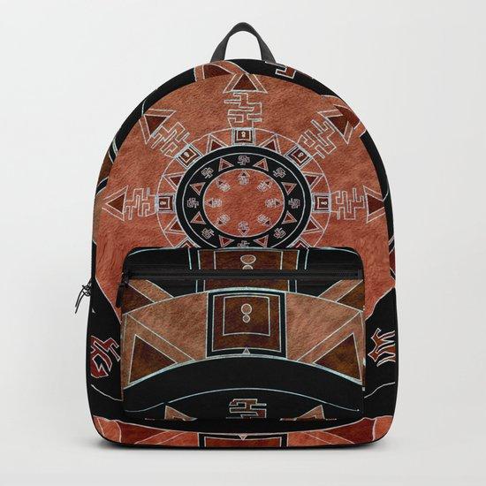 ethnic circle Backpack