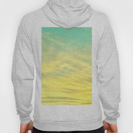 Green Yellow Sunset Hoody
