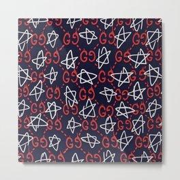 Gucci'Star Metal Print