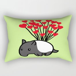 Tapir Love  Rectangular Pillow