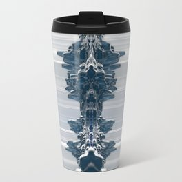 Faces In The Crowd Travel Mug