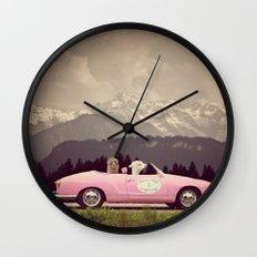 NEVER STOP EXPLORING VII Wall Clock