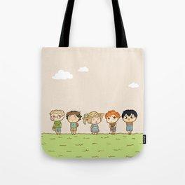 Spring! Karasuno 1st Years Tote Bag