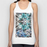 metallic Tank Tops featuring Metallic by Lara Gurney