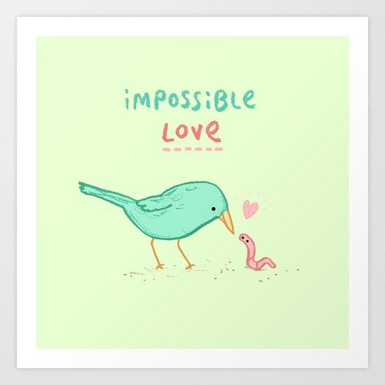 Impossible Love Art Print