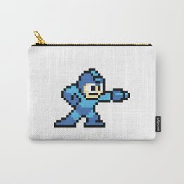 Pixelated Mega Man Carry-All Pouch