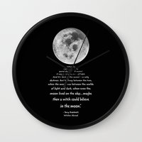 discworld Wall Clocks featuring Moon Bridge Pratchett by GrandeDuc