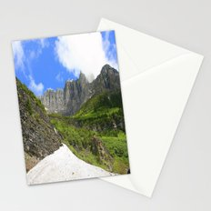 Peaks and Glaciers Stationery Cards