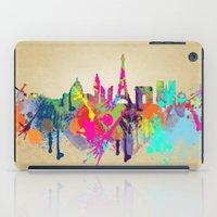 paris iPad Cases featuring paris by mark ashkenazi