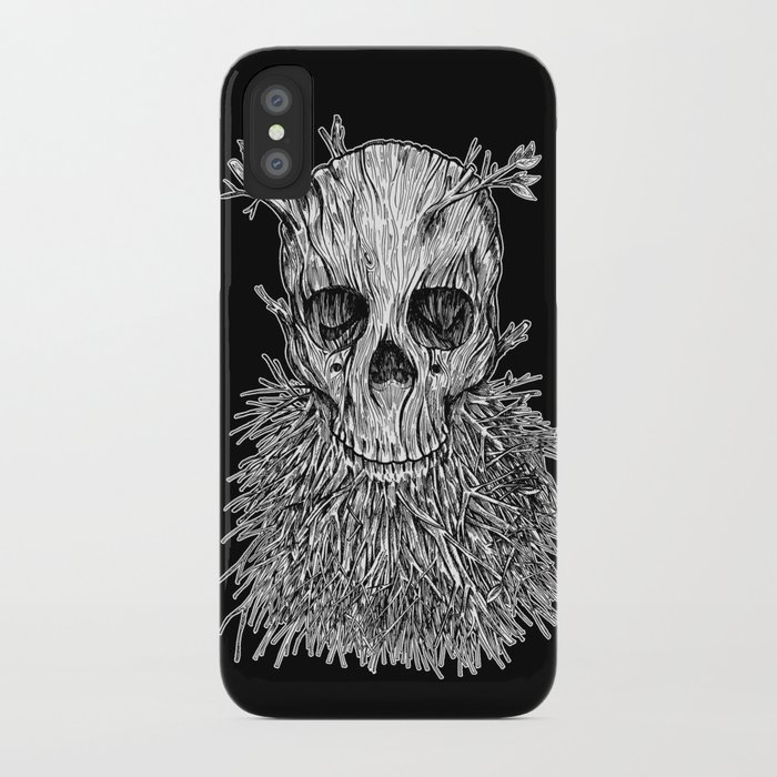 Lumbermancer B/W iPhone Case