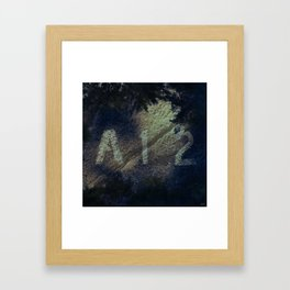 #Site #Specifics - 20160518 Framed Art Print