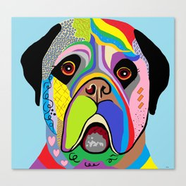 Mastiff Canvas Print