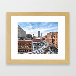 Chicago Curves  Framed Art Print
