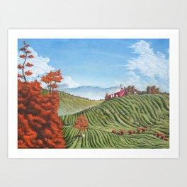 Vista at Belmont Art Print