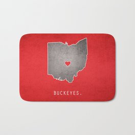 Ohio State Buckeyes Bath Mat