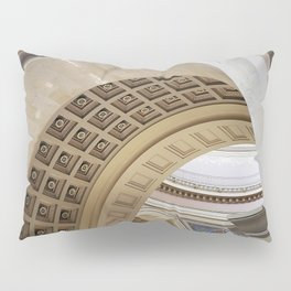 Wisconsin Capitol Building Arches And Angles Pillow Sham