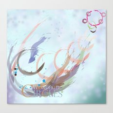 Wonderful Circles Canvas Print