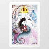 AT : Marcy Art Print