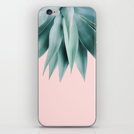 Agave fringe - blush iPhone Skin