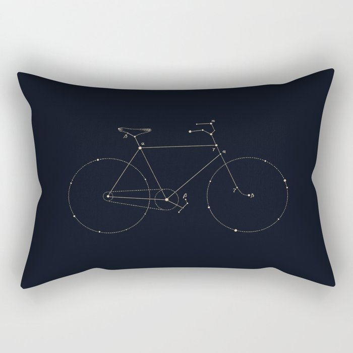 Bike Constellation Rectangular Pillow