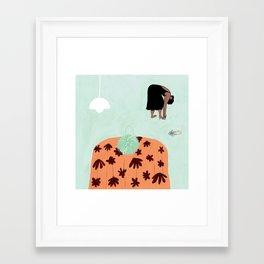 Loeffler Randall Luisa heels & Zadie tote Framed Art Print