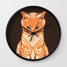 Sitting cat Wall Clock