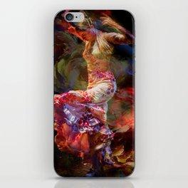 Duende flamenco iPhone Skin