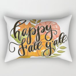 Happy Fall Y'all Rectangular Pillow