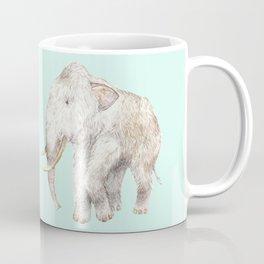 Woolly Mammoth Watercolor Mastodon Painting Coffee Mug
