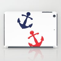 anchors iPad Cases featuring Anchors by Indulge My Heart