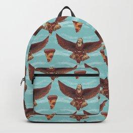 food eagle pizza Backpack